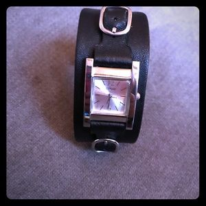 Guess Genuine Soft Leather Watch